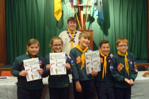 """Silver Chief Scout's"""